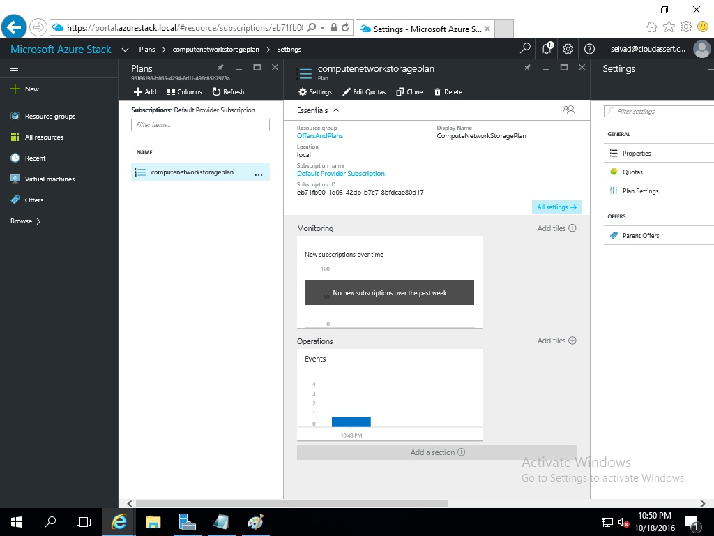 Azure Stack TP2 Install
